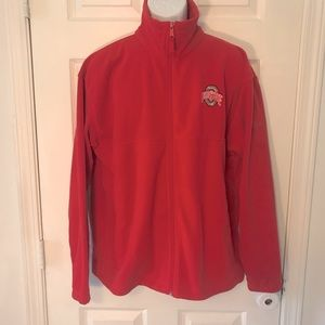 Columbia Size L Ohio State Zip Up Jacket!